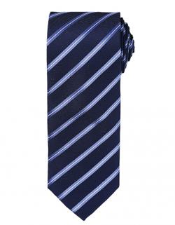 "Sports Stripe Tie / Breite 3"" / 7,5 cm / Länge 57"" / 144 cm"