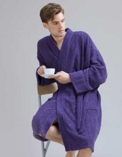Herren Bademantel Kimono Robe / Waschbar bis 40 °C
