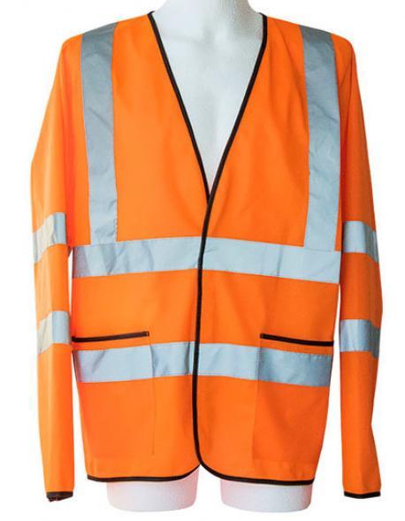 Herren Light Weight Hi-Viz Jacket EN ISO 20471 Class 3