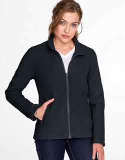 Damen Plain Fleece Jacke Norman