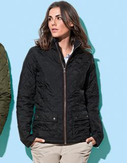 Damen Active Quilted Jacke