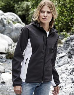 Damen Hooded Lightweight Performance Softshell