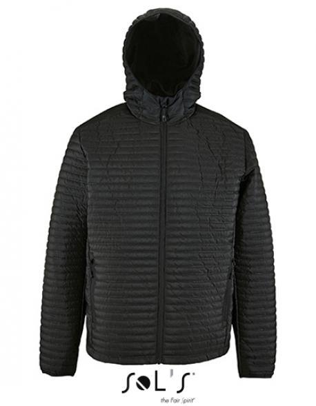 Herren Leightweight Heat-Sealed Padded Jacket Rocke