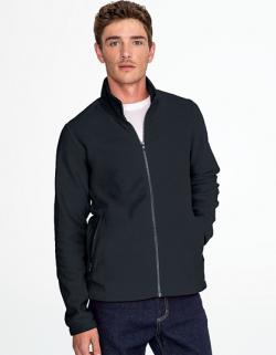 Herren Plain Fleece Jacket Norman