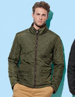 Herren Active Quilted Jacket