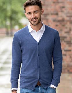 Herren V-Neck Knitted Pullover