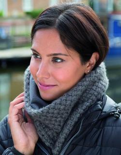 Damen Braided Neck Warmer