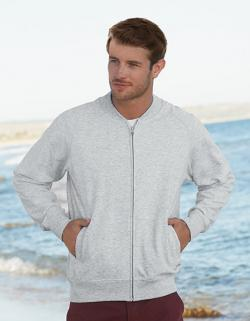 Herren Lightweight Baseball Sweat Jacket