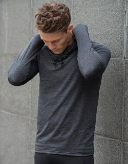 Herren Cool Cowl Neck Top