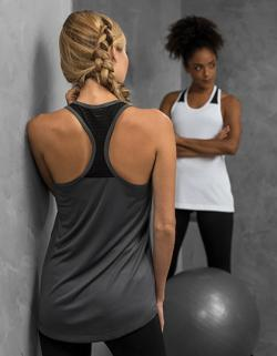 Damen Cool Smooth Workout Vest