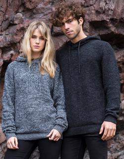 Damen Iguazu Knitted Hoody / 70 % Regenerierte Baumwolle