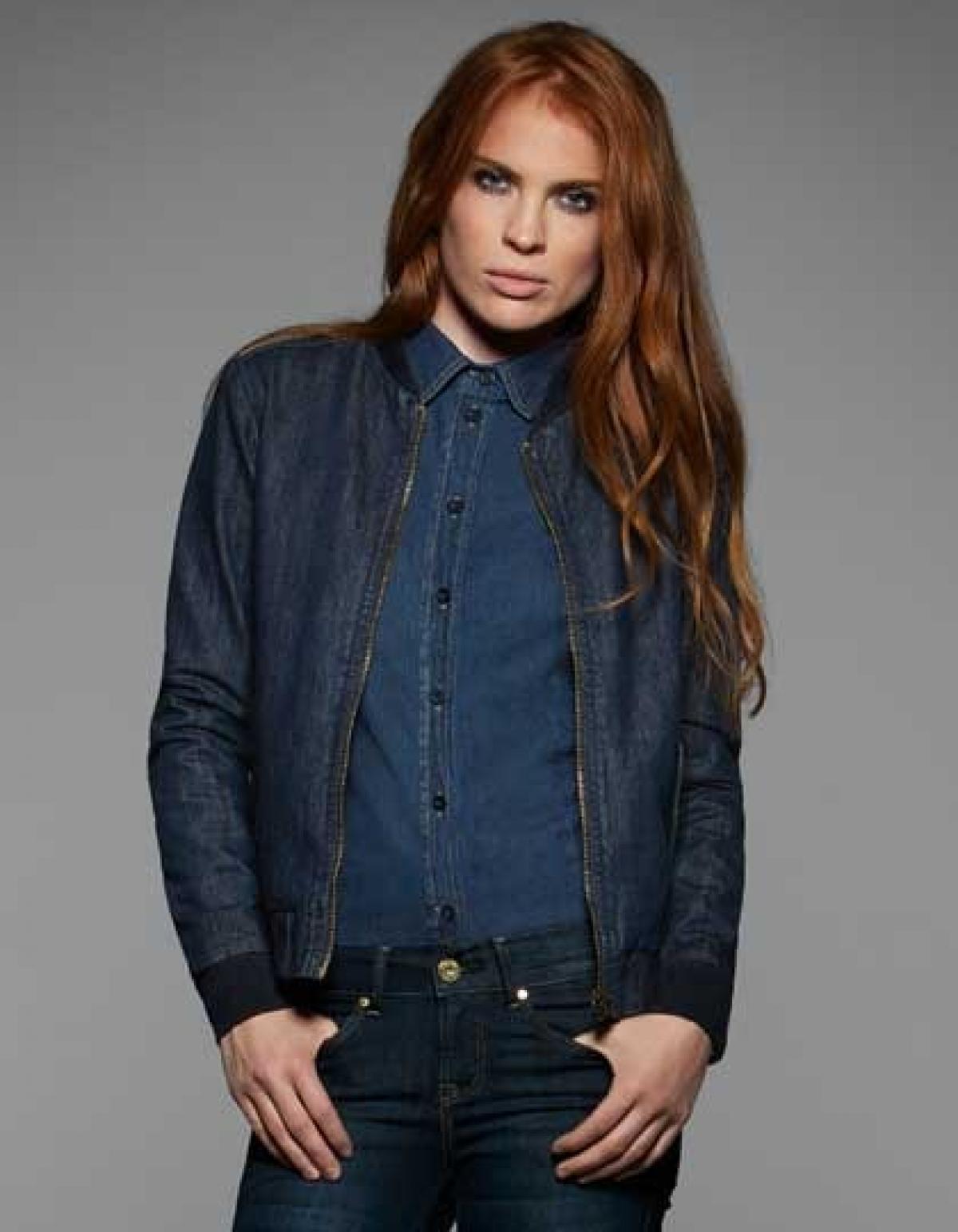 jacket dnm supremacy damen jeans jacke rexlander s. Black Bedroom Furniture Sets. Home Design Ideas