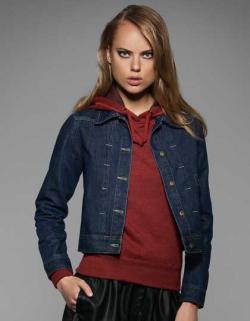 Trucker Jacket DNM Frame  / Damen Jeans Jacke