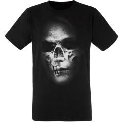 """Rotten Zombie Skull / Totenkopf"" Metal T-Shirt"