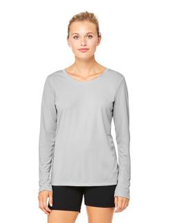 Women`s Performance Long Sleeve Tee - Damen Langarm T-Shirt