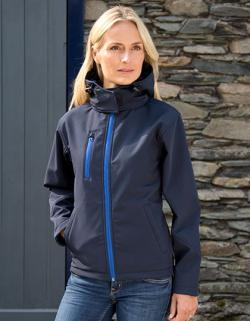 Ladies Core Lite Hooded Soft Shell Jacket