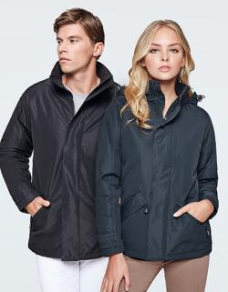 Damen Europa Jacket, Außenseite: 100% Polyester, Wasserdicht
