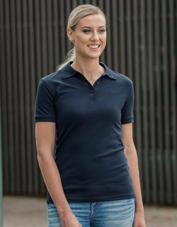 Damen Luxury Stretch Polo, Figurbetonter, moderner Schnitt