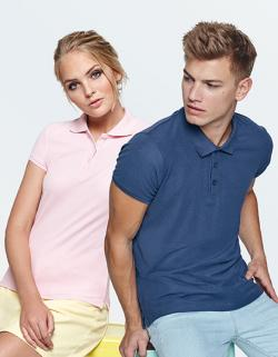Damen Star Woman Poloshirt, Piqué