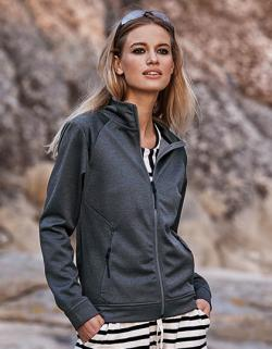 Damen Performance Zip Sweat