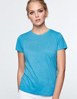 Damen Fox T-Shirt, Single-Jersey