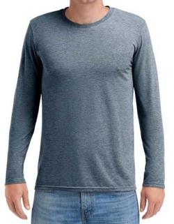 Herren Adult Tri-Blend Long Sleeve Tee
