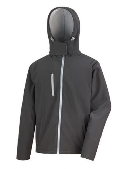 Mens Core Lite Hooded Soft Shell Jacket