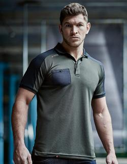 Herren Offensive Wicking Polo