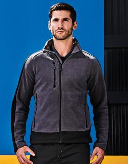 Herren Contrast 300G Fleece Jacket, Pflegeleicht