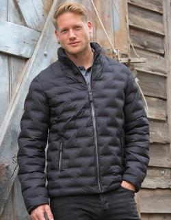 Herren Ultrasonic Rib Coat, Wasserabweisend