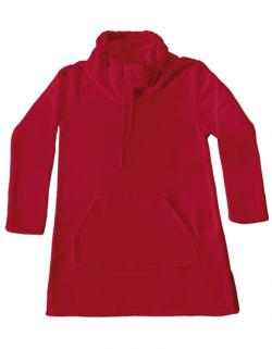 Damen Coral Fleece Lounge Pullover