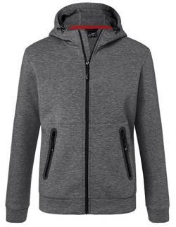 Herren Hooded Jacket, Elastische,  Interlock-Qualität