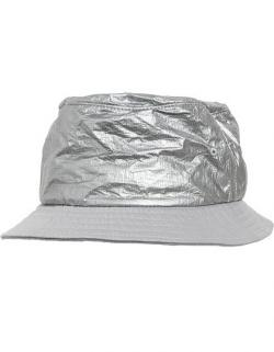 Crinkled Paper Bucket Hat