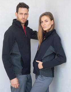 Herren Softshell Jacket - innen beschichtetem Fleece