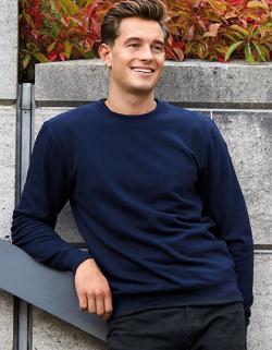 Herren Workwear Sweatshirt - 80 % Bio-Baumwolle