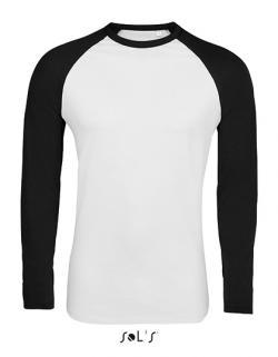 Herren Funky Long Sleeve T-Shirt - 2-farbig