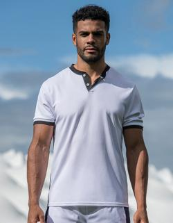 Herren Polo Cool Stand Collar Sports Polo