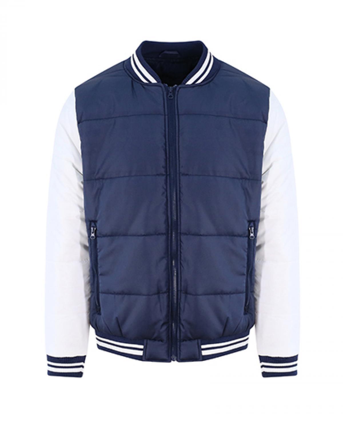 Herren Jacke Varsity Puffer Jacket Durchgehend gefüttert | JH049 | Just Hoods