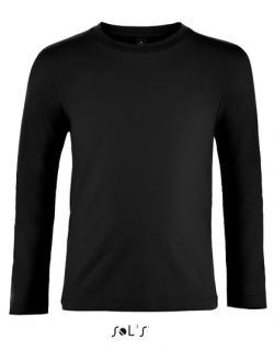 Kinder Imperial Long Sleeve T-Shirt - 100% halbgekämmte Baum