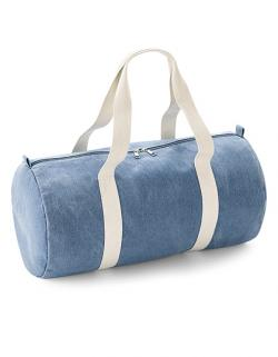 Reisetasche Denim Barrel Bag - 25 x 50 x 25 cm
