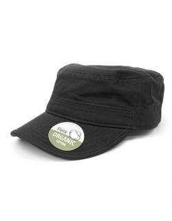 Army Cap Organic Cotton Army Cap washed