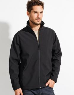Mens Softshell Zip Jacket Race