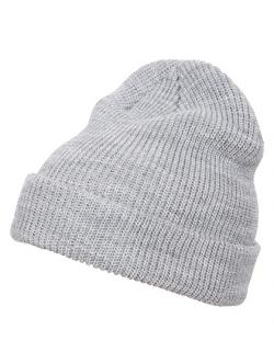 Long Knit Beanie - Extra lange Form zum Umschlagen