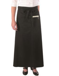 Bistro Apron with Front Pocket - 100 x 100 cm