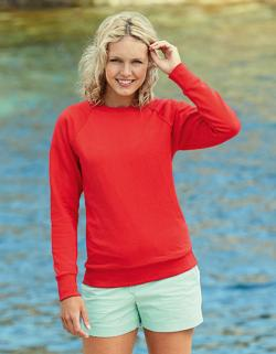 Lady-Fit Lightweight Raglan Sweatshirt / Pullover