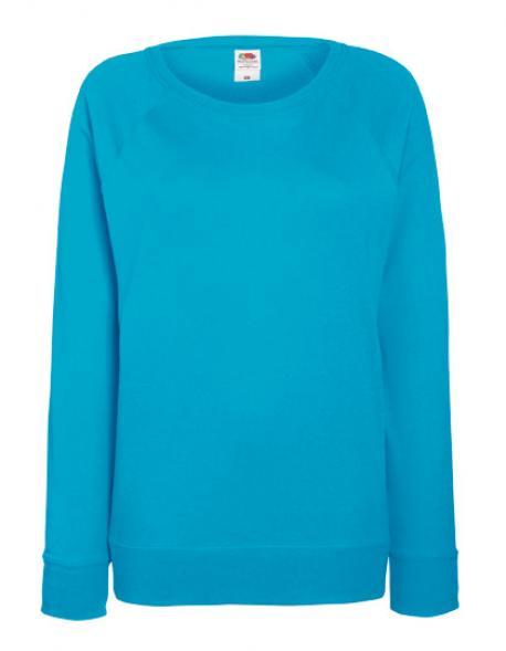 Lady-Fit Lightweight Raglan Sweatshirt / Pullover