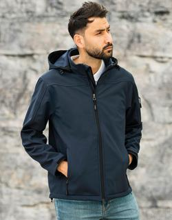 Herren Jacke Men´s Hooded Soft-Shell Jacket