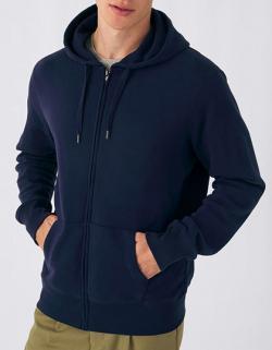 KING Zipped Hood Jacket, gekämmte Baumwolle