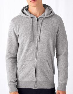 Organic Zipped Hood Jacket, gekämmte Bio-Baumwolle
