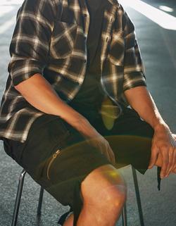 Herren Cargoshorts,Savage Shorts, Robustes Material